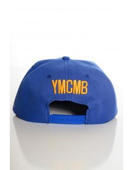 Casquette YMCMB Snapback Bleu