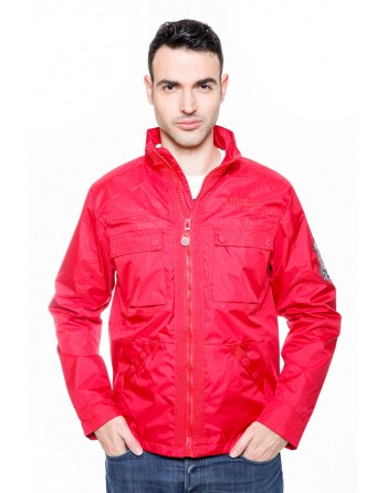 Blouson Homme Geographical Norway Amigo Rouge
