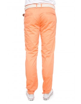 Pantalon Chino Geographical Norway Proud Corail