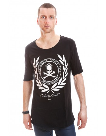 Tshirt Celebry Tees Oversize Spirit Noir