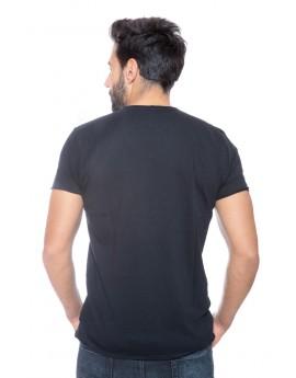 Tshirt Homme Deeluxe 74 Dereck Noir
