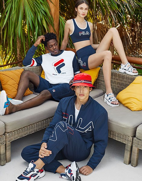 The Look Book FILA Printemps/Eté 2019